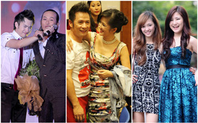 Điểm danh những sao Việt là người nhà của nhau