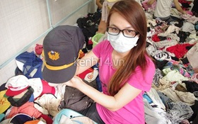 Hàng rẻ gây shock tại chợ hàng thùng Sài thành