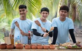 Cùng Quốc Khánh - Võ Đăng Khoa nấu đặc sản miền Tây: Cá bống kho, gà hấp củ hũ dừa, gỏi tai heo