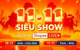 Rhymastic, Bảo Thy, Isaac và dàn sao hot nhất Vbiz cùng đổ bộ Shopee 11.11 Siêu Show