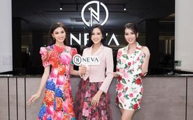 Top 3 Hoa hậu Việt Nam 2020 rạng rỡ trong thiết kế của NEVA