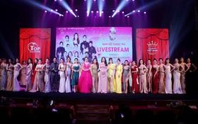 Rực rỡ đầy màu sắc đêm bán kết cuộc thi Hoa hậu Doanh nhân Việt Nam Toàn cầu 2020