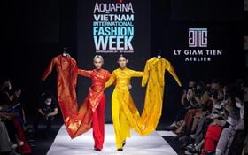 Xem Aquafina Tuần lễ Thời trang Quốc tế Việt Nam 2020 mới thấy: Nước mình còn vô vàn cảm hứng sáng tạo, cần chi đâu nước ngoài?