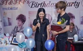Bùi Anh Tuấn xúc động hát tặng mẹ trong ngày sinh nhật