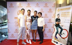 Dàn sao trẻ cùng dự sự kiện ra mắt giày Paperplanes