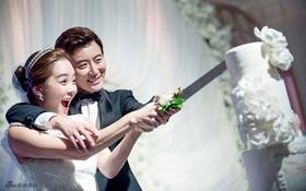 Tiệc cưới xa hoa của Chae Rim - Cao Tử Kỳ