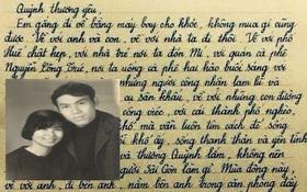Lá thư Lưu Quang Vũ gửi Xuân Quỳnh khiến cư dân mạng xúc động