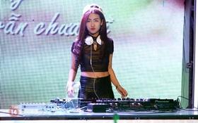 """DJ Trang Moon bất ngờ chơi bản hit """"See you again"""" trên sóng VTV"""