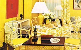 Căn phòng vintage mang sắc vàng ấm áp