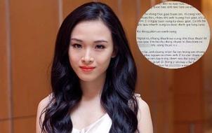 """Email """"hợp đồng tình ái"""" được cho là của đại gia Sài Gòn gửi hoa hậu Phương Nga xuất hiện trên mạng"""