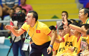 HLV Bruno đột ngột chia tay tuyển futsal Việt Nam