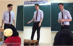 Thêm một thầy giáo Tây khiến HS xuýt xoa: Thế này thì học cả đời em cũng chịu!