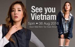 """Cư dân mạng """"sôi sục"""" thông tin Sandara Park đến Việt Nam vào tháng 8"""