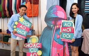 Diễn viên Quý Bình và Miu Lê tham gia ngày hội áo khoác Couple TX