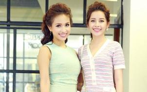 Chi Pu, Thanh Vân Hugo đẹp rạng ngời trong lễ khai trương Quách Ánh Makeup Store