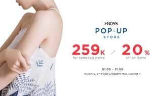 Thời trang Hnoss: Ưu đãi lớn tại Crescent Mall