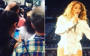 """Đứng sát sân khấu concert Beyoncé mà chơi Pokemon Go, fan nữ bị chửi là """"con khốn"""""""