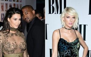 Kanye West đá đểu Taylor Swift trên sân khấu concert của Drake
