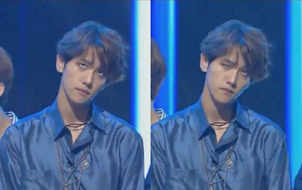 """Baekhyun (EXO) bị """"soi"""" vì trợn tròn mắt thái độ khi đứng bên đàn em NCT"""