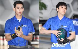 Fan phát cuồng vì vẻ nghiêm túc của Kim Soo Hyun, Lee Hong Ki ở giải đấu bowling chuyên nghiệp
