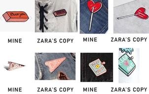 Zara bị tố ăn cắp thiết kế của một chuyên viên đồ họa