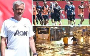 Nóng: Hủy derby Manchester tại Bắc Kinh vì lý do thời tiết