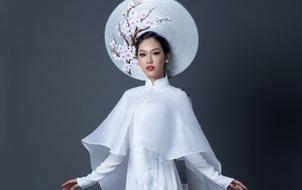 Đây là quốc phục chính thức của Phương Linh tại Hoa hậu Quốc tế 2016