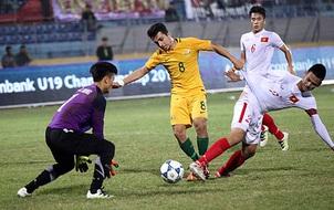 U19 Việt Nam thua đậm Australia ở giải U19 Đông Nam Á