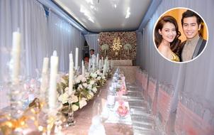 Cập nhật: Không gian lễ đính hôn tại gia của Ngọc Lan - Thanh Bình