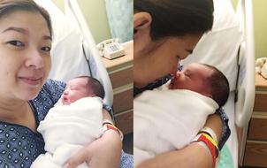 Phạm Thanh Thảo hạnh phúc khoe ảnh ngay sau khi sinh con trai thứ hai