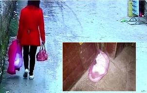 Trung Quốc: Mẹ trẻ gây phẫn nộ khi vứt con trong túi ni lông 2 tiếng sau khi sinh