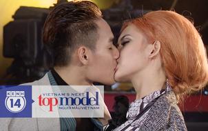 Xem clip thí sinh Next Top hôn nhau như phim, khán giả phản ứng ra sao?