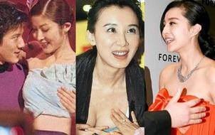 Những khoảnh khắc ngại ngùng của mỹ nhân Hoa ngữ khi bị sàm sỡ công khai