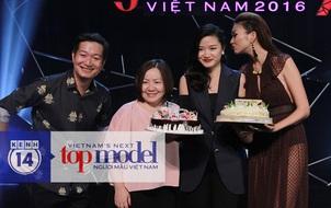 Giám khảo Hà Đỗ cực tình cảm bên host Thanh Hằng trong sinh nhật muộn