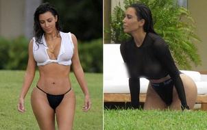 """Nhớ bảo vệ đôi mắt mình trước khi chiêm ngưỡng thời trang """"có như không"""" của Kim Kardashian"""