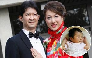 Mỹ nhân TVB Chung Gia Hân lần đầu khoe ảnh con gái đầu lòng