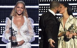 VMAs 2016: Beyoncé ôm Video của năm, Drake - Rihanna khiến khán giả phát cuồng
