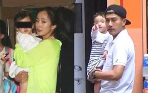 """Bị chỉ trích """"không đoái hoài tới gia đình"""", Dương Mịch - Lưu Khải Uy vội vàng trở về Hồng Kông đưa con đi học"""