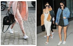 Chẳng phải Stan Smith hay Superstar, đây mới là mẫu sneaker trắng được Kendall, Gigi, Miranda mê nhất