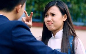 """""""Đả nữ"""" Midu cho Harry Lu… ăn đập trong phim thanh xuân vườn trường"""