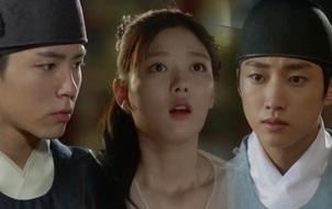 """""""Moonlight"""": Thân là Thế tử, Park Bo Gum vẫn bị tình địch """"cướp trên giàn mướp"""" như thường!"""