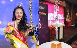 Quyền trượng của Hoa hậu Việt Nam đã thay đổi, và đây là diện mạo mới trong năm 2016