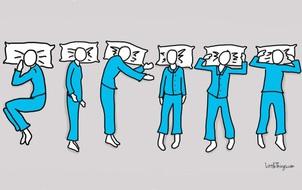 Mách bạn cách tìm hiểu tính cách con người qua dáng ngủ của họ