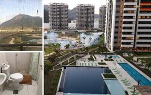 Làng Olympic Rio bị chê bẩn thỉu và xuống cấp nghiêm trọng
