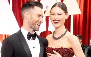 Một mỹ nhân tương lai vừa chào đời: Vợ Adam Levine đã sinh con gái!