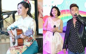 """Á hậu Thùy Dung khoe giọng, Suni Hạ Linh, Mr.T và Monstar dễ thương hết cỡ tại Gala """"Here We Go"""""""