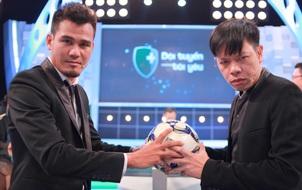 Diễn viên Thái Hòa thách đấu tâng bóng với Phan Thanh Bình