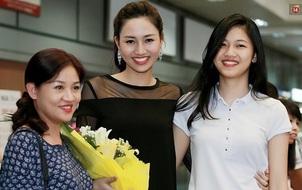 Trà My - Thanh Tú: Cặp chị em Á hậu đầu tiên trong lịch sử thi nhan sắc Việt