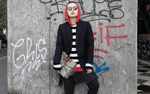 Kelbin Lei phủ đầy hàng hiệu, thẳng tiến dự show tại Milan Fashion Week