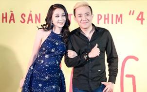 """Vắng Hari Won, Trấn Thành """"cặp kè"""" Sam tại họp báo phim """"Nắng"""""""